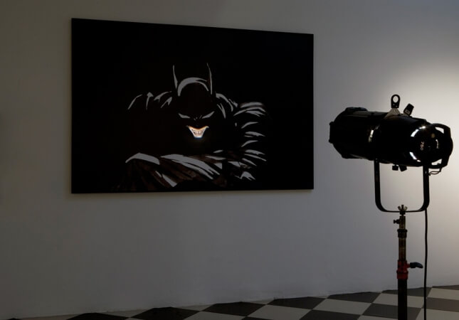 Adrian Tranquilli | Works: Don't forget the Joker | Exhibition view | Studio Stefania Miscetti exhibitions