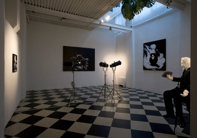 Adrian Tranquilli   Works: Don't forget the Joker   Exhibition view   Studio Stefania Miscetti exhibitions