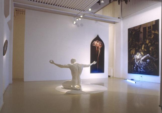 Adrian Tranquilli   Works: Evidence   Exhibition view   Studio Stefania Miscetti exhibitions