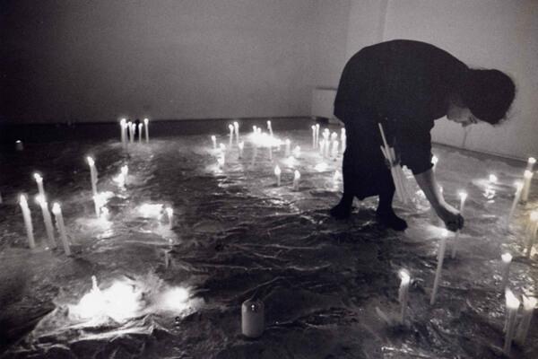 Studio Stefania Miscetti | Contemporary Art Rome | Exhibition: ANYA GALLACCIO - La dolce vita