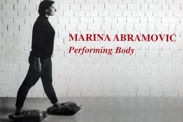 Studio Stefania Miscetti | Contemporary Art Rome | MARINA ABRAMOVIC - Performing Body