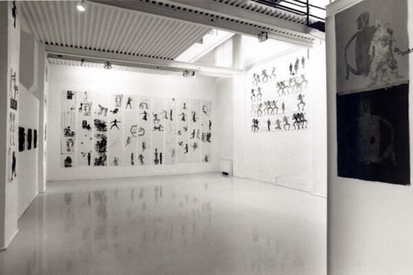 Studio Stefania Miscetti | Contemporary Art Rome | Exhibition: NANCY SPERO - Sky Goddess, Egyptian Acrobat
