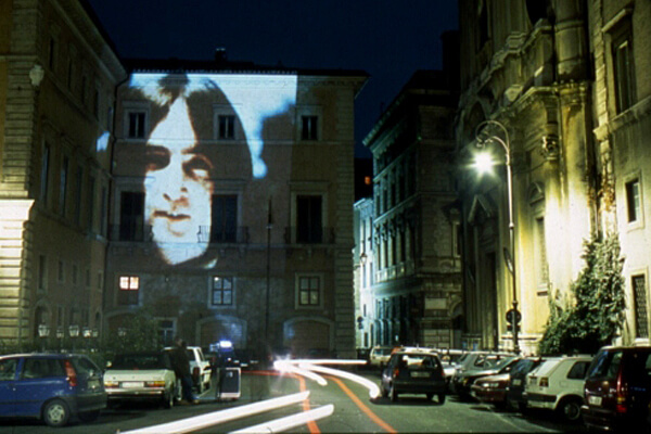Studio Stefania Miscetti | Contemporary Art Rome | YOKO ONO Projected Artists IV/V - Smile Event