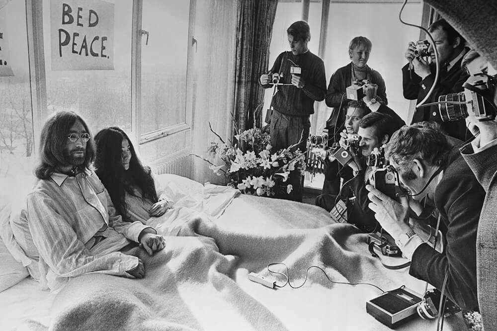 Studio Stefania Miscetti | Exhibitions / Projects | Yoko Ono - The Yoko Ono Film Festival: John and Yoko