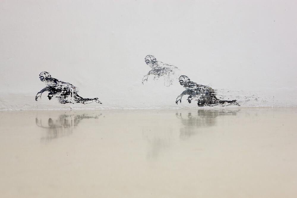 Studio Stefania Miscetti | Contemporary Art Rome | Exhibition: Nancy Spero - Blue