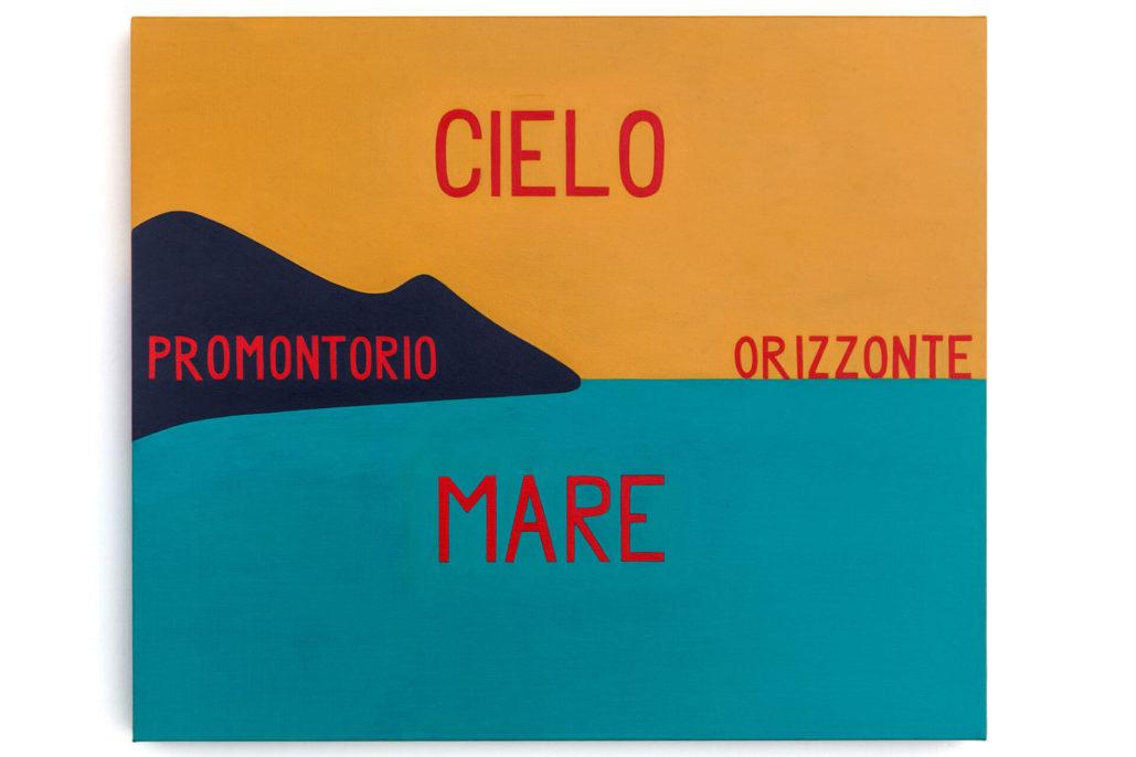 Studio Stefania Miscetti | Exhibition gallery | Giancarlo Neri | Parole parole: