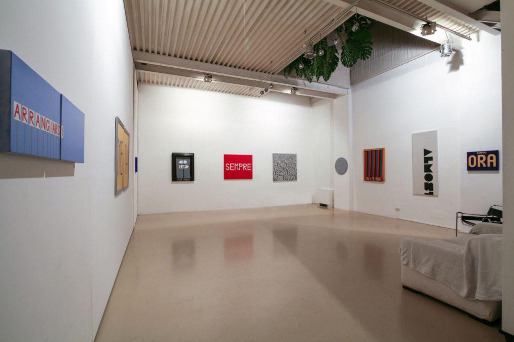 Studio Stefania Miscetti | Exhibition gallery | Giancarlo Neri | Parole parole: view