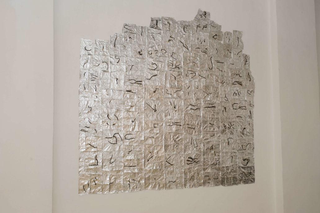 Patrizia Cavalli, I miei splendidi giorni tutti uguali, 2013, Studio Stefania Miscetti, exhibition view, photo Humberto Nicoletti Serra