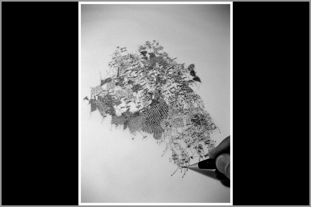 Fabio Alessandro Fusco, Città relazionali, 2014, detail
