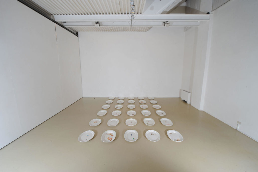 Gian Domenico Sozzi, so it goes, 2009, Studio Stefania Miscetti, exhibition view, photo by Humberto Nicoletti Serra