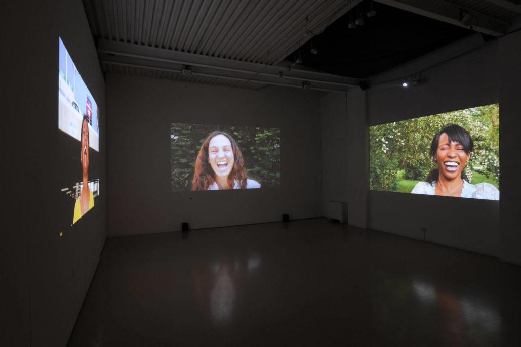 Piero Steinle, The Triumph of Laughter, 2009, Studio Stefania Miscetti, exhibition view, photo by Humberto Nicoletti Serra