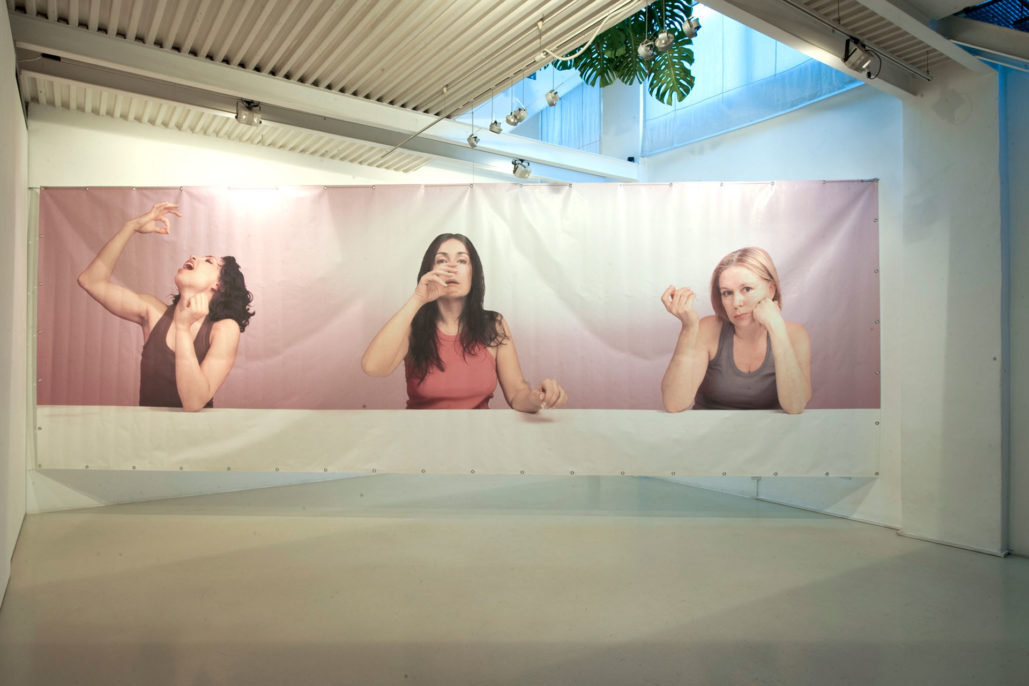 Nordine Sajot, Works and Jewels, 2009, exhibition view, Studio Stefania Miscetti