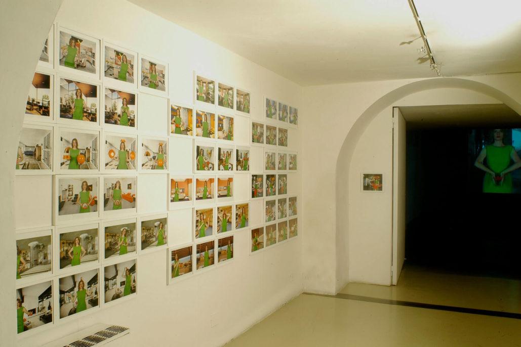 Alba D'Urbano and Tina Bara, Opere d'arte 36, 2007, Studio Stefania Miscetti, exhibition view