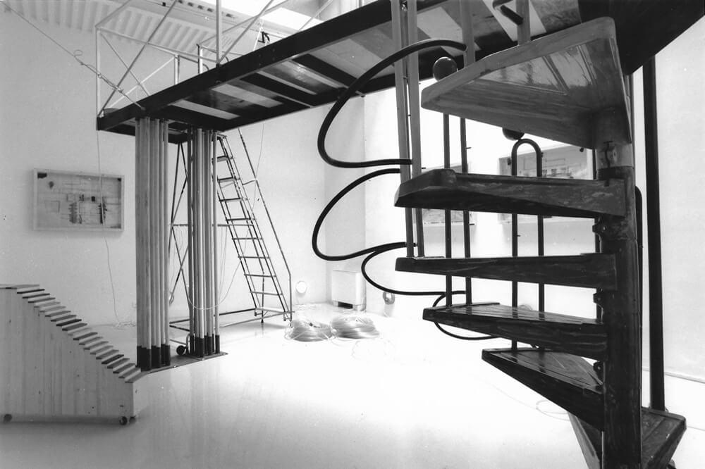 Studio Stefania Miscetti | Contemporary Art Rome | Exhibition: CLAUDIO PIERONI - SALA MACCHINE