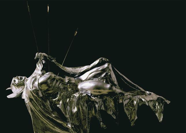 Adrian Tranquilli, Believe, 2001, exhibition view at Palazzo delle Esposizioni