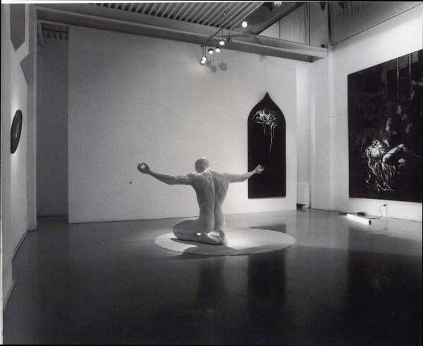Adrian Tranquilli, Evidence, 2001, exhibition view, photo by Claudio Abate