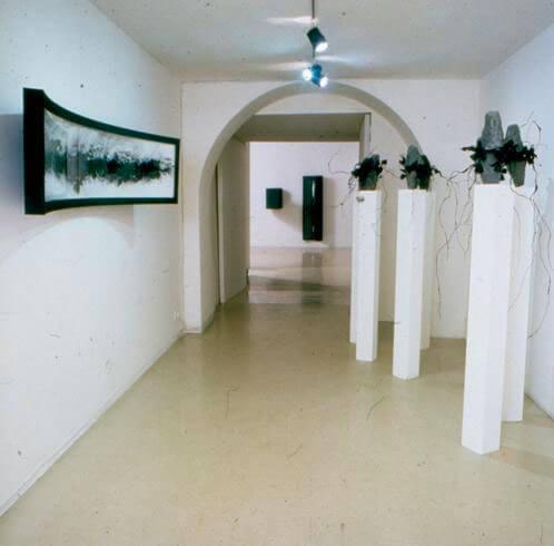 Adrian Tranquilli, Sei senza nome, 1995, exhibition view