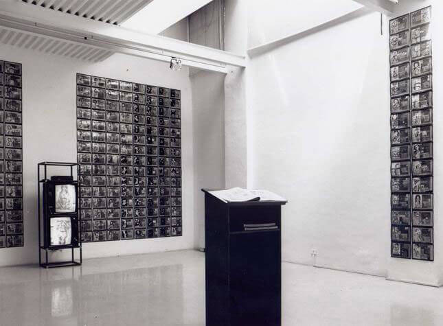 Alba D'Urbano, Un anno, 1993, exhibition view