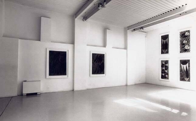 Alberto Di Fabio, Il profilo insonne della terra, 1994, exhibition view