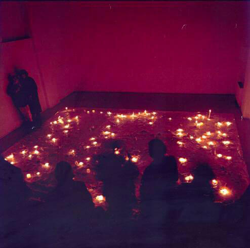 Anya Gallaccio, La dolce vita, 1994, Studio Stefania Miscetti, exhibition view