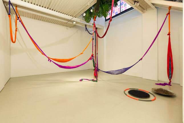 Bruna Esposito, Allegro non troppo, 2017, Studio Stefania Miscetti, exhibition view