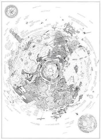 Raumlabor, Mappa Mundi, 2011-2014, detail