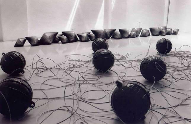 Fiorella Rizzo, Naulo, 1993, exhibition view