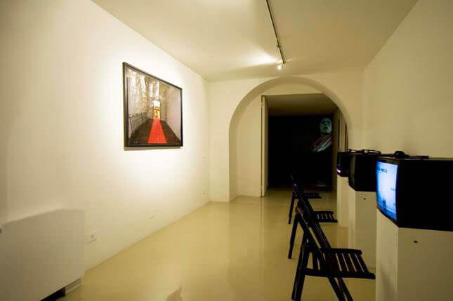 Gian Domenico Sozzi, SHE DEVIL Special Edition for Christmas, 2009, exhibition view
