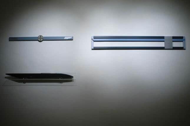 Gianni Piacentino, 2008, exhibition view