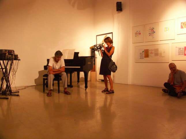 Giuseppe Chiari, Piero Mottola, Opere ed emissioni, 2006, exhibition view