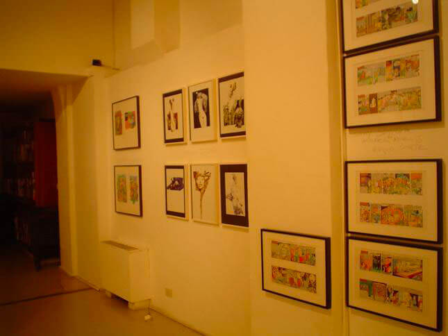 Group Show, A band a part, 2005, exhibition view