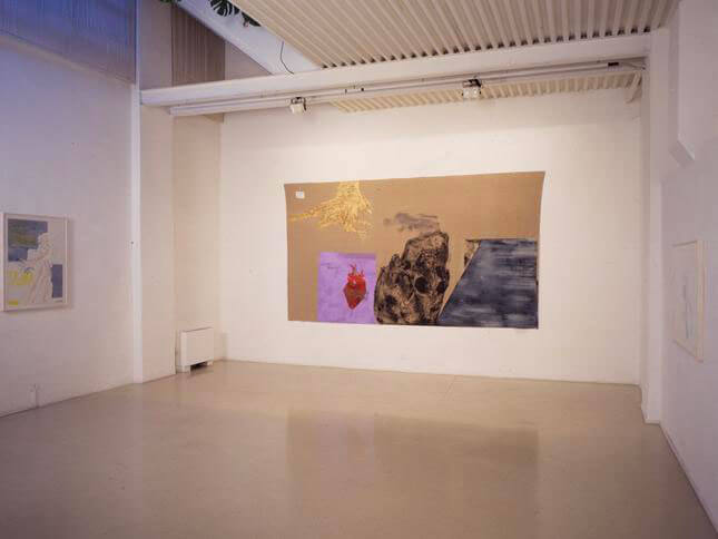 Leon Golub, Time's Up, 1998, exhibition view