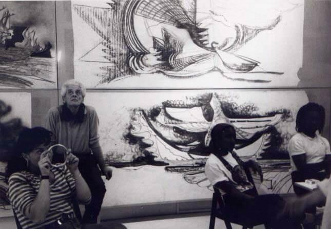Luigi Pellegrin, Alle porte dell'architettura, 1992, exhibition view