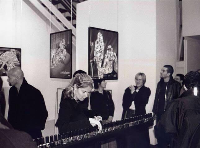 Manfred Erjautz, Michael Kienzer, Paolo Canevari, Adrian Tranquilli, 1998, exhibition view