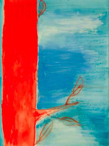 Manuela Filiaci, Tutto è foglia, 2004, Studio Stefania Miscetti, exhibition view