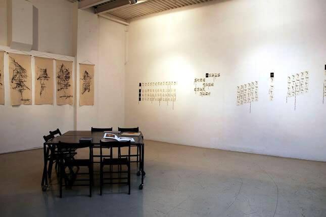 Maria Lai, A portata di mano, 2005, exhibition view