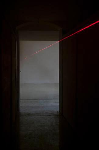 Maurizio Mochetti, Orizzonte degli eventi 2012, Studio Stefania Miscetti, exhibition view, photo by Giorgio Benni