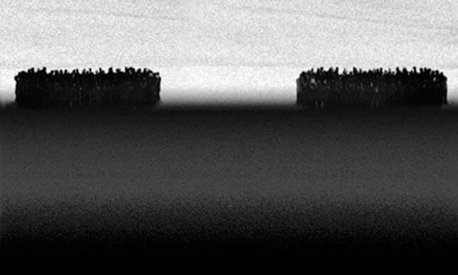 Michal Rovner, Day and Night