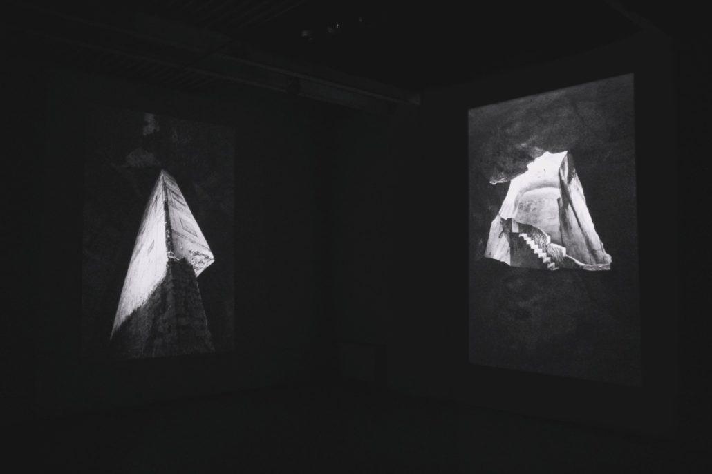Nicolas Combarro, Per Roma. Spazio, luce, composizione, 2019, exhibition view