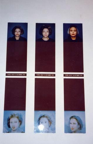 Orlan, Orlan a Roma, 1996, exhibition view