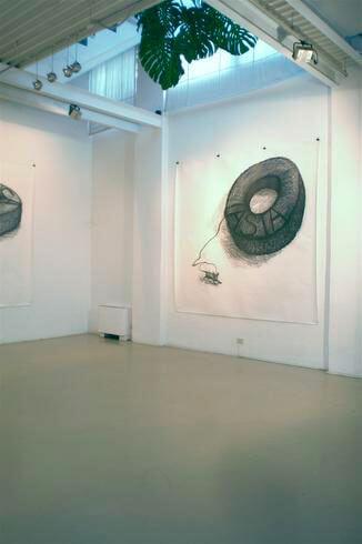 Paolo Canevari, Continenti, 2007, exhibition view