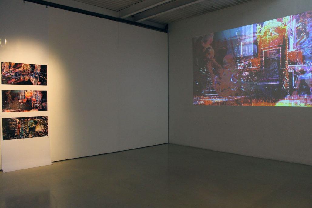 Paul Ferman , Permanent past, 2019, exhibition view