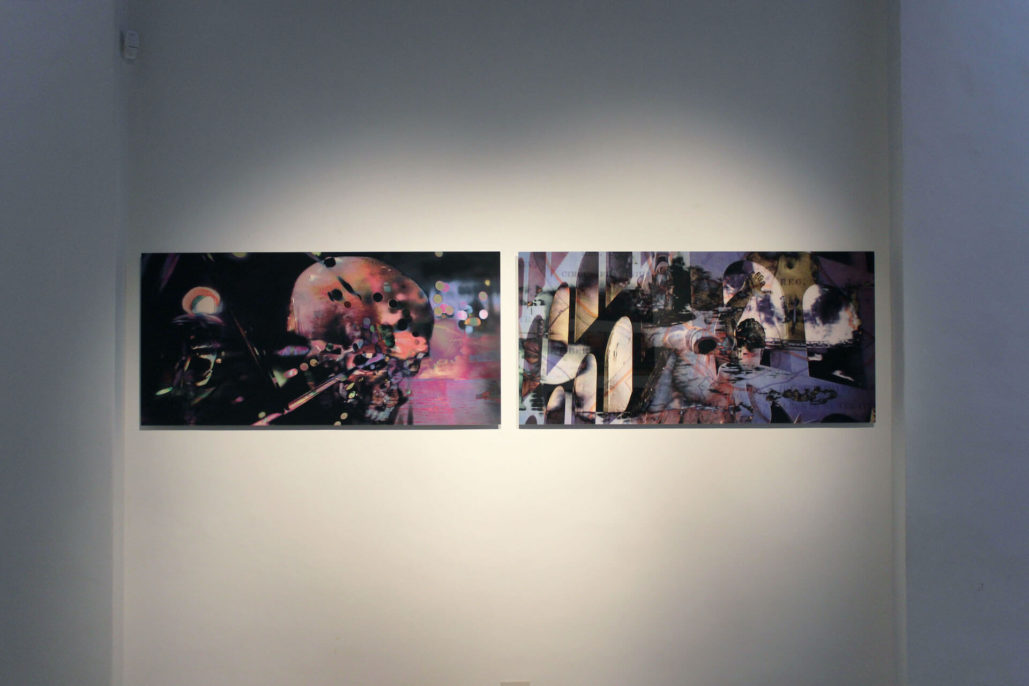 Paul Ferman , Permanent past, 2019, print on dibond