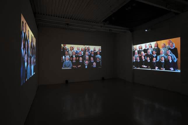 Piero Steinle, The Triumph of Laughter, 2009, exhibition view, photo by Humberto Nicoletti Serra