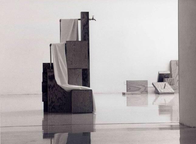 Rui Sanches, Opere di scultura e disegni, 1991, exhibition view
