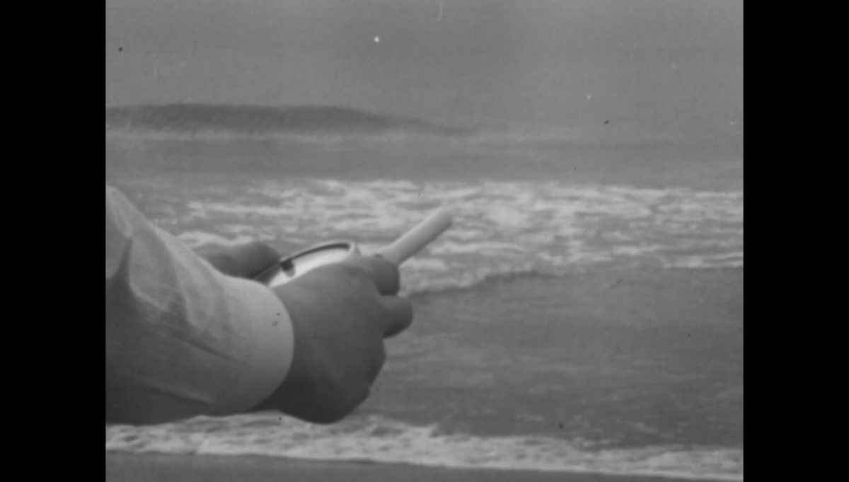 Laura Grisi, Wind Speed 40 Knots, 1968, still, courtesy of the estate and P420
