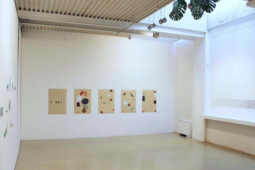 Silvia Fernández Palomar, Per Roma. Spazio, luce, composizione, 2019, exhibition view