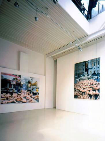 Spencer Tunick, Spencer Tunick, 2002, exhibition view