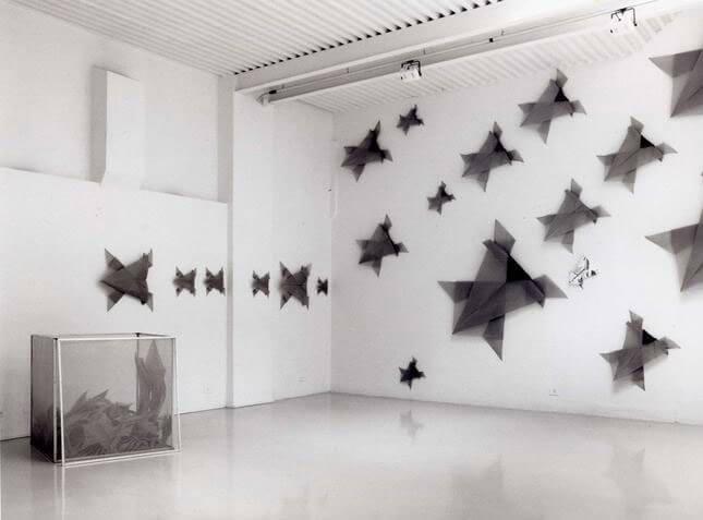 Teresa Montemaggiori, BREKEKEKE' La rana è senza perchè, 1992, exhibition view