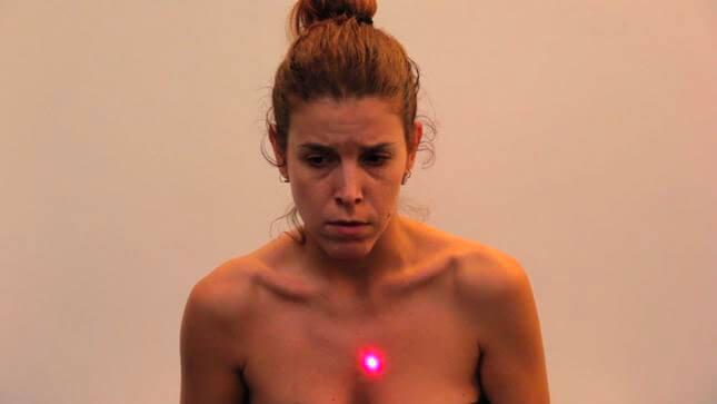 Silvia giambrone, Sotto Tiro, 2013, still video